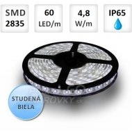 1M LED PÁSIK 60 SMD2835 4,8W STUDENÁ...