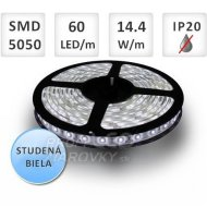 1M LED PÁSIK 60 SMD5050 14,4W STUDEN...