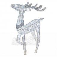 LED vianočný 3D sob, 76cm, vnútorný,...