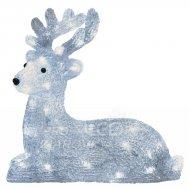 LED vianočný jelenček, 31cm, vonkajš...