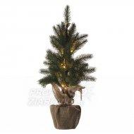 LED vianočný stromček, 52cm, 2× AA, ...