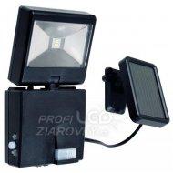 LED reflektor, solárny, s pohybovým ...