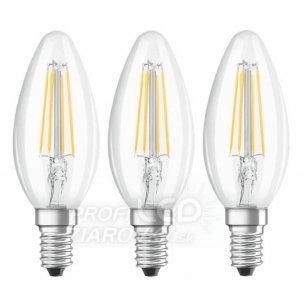 Led žiarovka filament e14 4w 4000k osram - neutrálna biela - 6ks