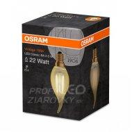 LED žiarovka Filament sviečka E14 2,...