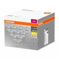 LED žiarovka GU10 4,3W 350lm OSRAM 2700K 36° - Teplá biela - 10ks