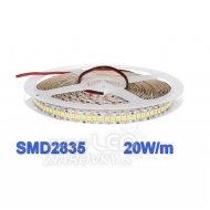 2m led pásik smd3835 20w teplá biela, ip20