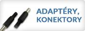 Adaptéry, konektory