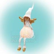 Anjel, sediaci svietiaci, 65 cm...