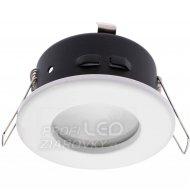 Podhľadové okrúhle svietidlo biele AQUS GU10 IP44