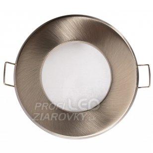 Podhľadové okrúhle svietidlo satyna aqus gu10 ip44