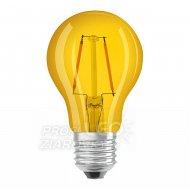 Dekoračná LED žiarovka E27 OSRAM, Žl...