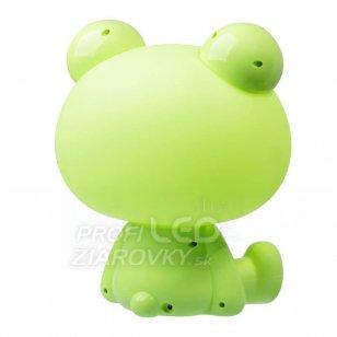 Detská nočná lampa LED ŽABKA Polux, 2,5W - zelená