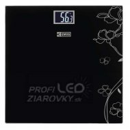 Digitálna osobná váha EV106, čierna...