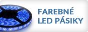 Farebné LED pásiky