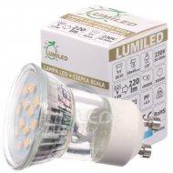 LED žiarovka GU11 LUMILED, 2,5W - Teplá biela
