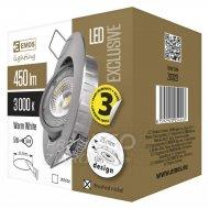 LED bodové svietidlo strieborné Excl...