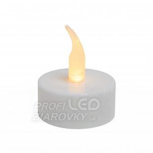 Led čajová sviečka, biela 6ks, 3v