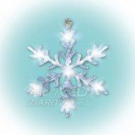 LED dekorácia do okna, akryl, snehov...