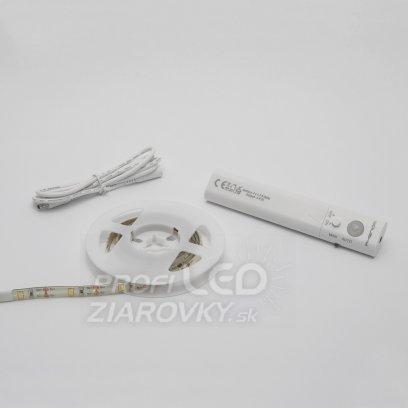LED pásik s pohybovým senzorom, na batérie 4xAAA