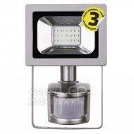 LED reflektor 10W PIR PROFI neutrálna biela