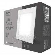 LED stropné vstavané svietidlo štvor...