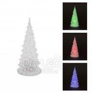 LED vianočný stromček 16 cm...