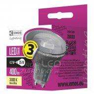 LED žiarovka Classic 4,2W GU10 teplá...