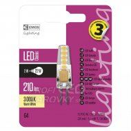 LED žiarovka Classic JC A++ 2W G4 te...