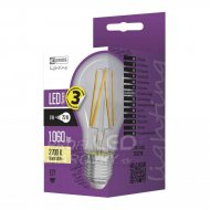 LED žiarovka filament A60 8W E27 tep...