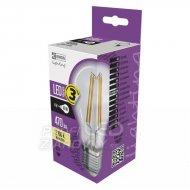 LED žiarovka filament A60 A++ 4W E27...