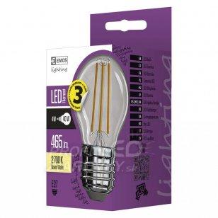 LED žiarovka filament mini globe 4W E27 teplá biela