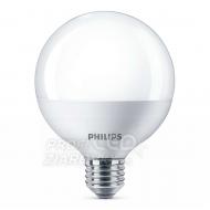 LED žiarovka PHILIPS GLOBE E27 9,5W Teplá biela