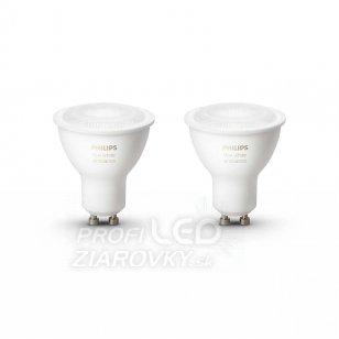 LED žiarovky PHILIPS HUE GU10, 5,5W