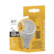 LED žiarovka SPOT 6W GU10 teplá biela