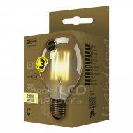 LED žiarovka Vintage G95 4W E27 tepl...