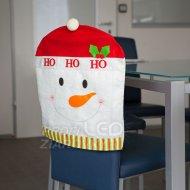 Ozdoba na stoličku - Snehuliak...