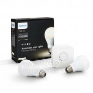 PHILIPS HUE Starter Kit White 2 SET LED E27 9,5W A60 + bridge
