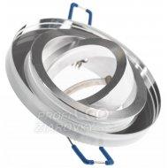 Podhľadové okrúhle svietidlo sklenené priesvitné arian mr16 gu10