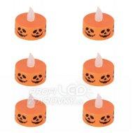 Sada čajové sviečky halloween - 6ks...