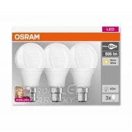 Sada LED žiaroviek B22d OSRAM, 9,5W