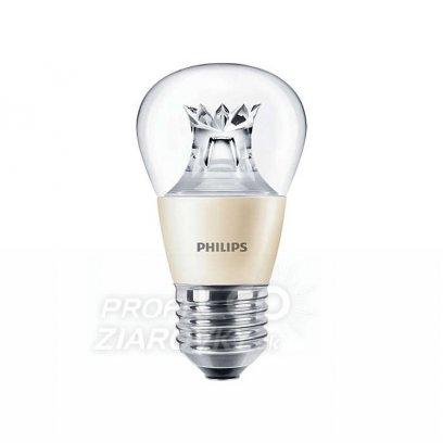 Stmievateľná led žiarovka philips e27, 6w, teplá biela