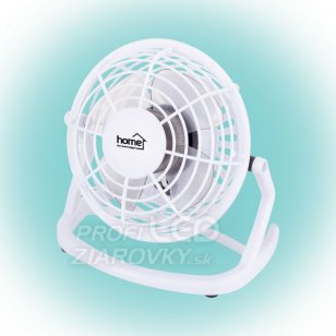 Stolný USB ventilátor - 10 cm - biela - Somogyi TF 10 USB/WH