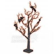 Strom halloween s netopiermi - 70cm...