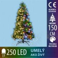 Umelý ako živý! vianočný stromček s ...