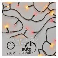LED vianočná reťaz pulzujúca, 12m, j...