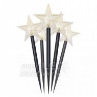 LED vianočné hviezdy, 30cm, vonkajši...