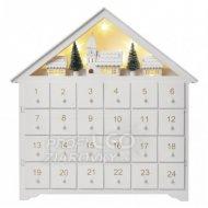 LED adventný kalendár, 35x30cm, 2x A...