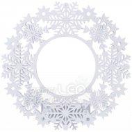 Vianočná dekorácia LED VENIEC s čas. 2xAA IP20 tep.biela