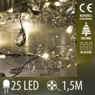 Vianočná LED svetelná mikro reťaz vn...
