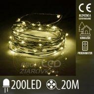 Vianočná LED svetelná mikro reťaz vo...